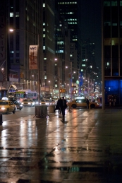 streets of new york at night