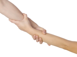 pulling hands