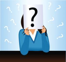 photo-24751599-vector-of-businesswoman-with-question-mark-board.